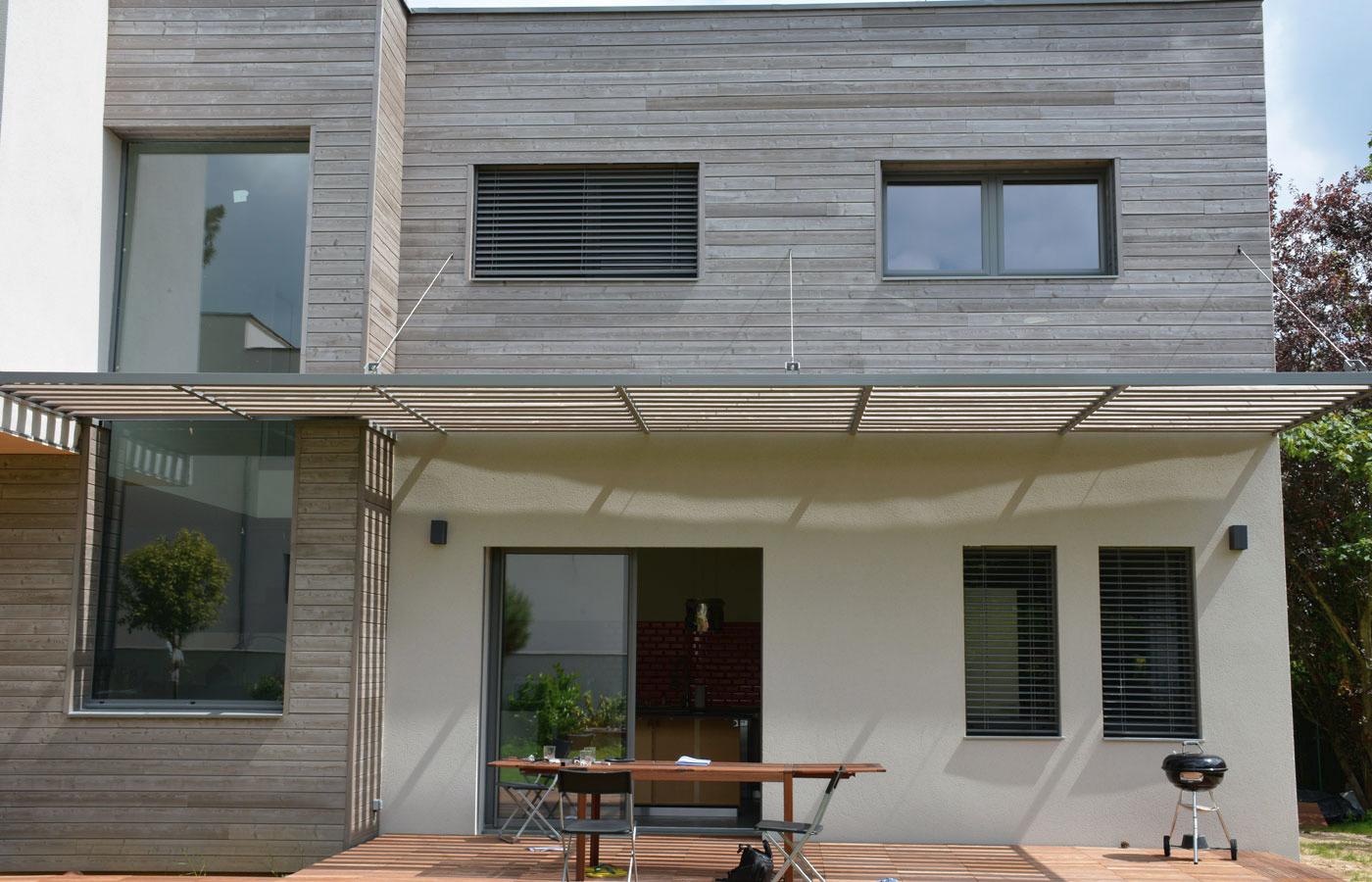Metallerie design - Brise soleil terrasse ...