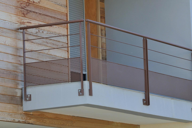 Garde corps metallique pour interieur maison